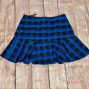 LF Skirts - Millau Plaid Trumpet Skirt